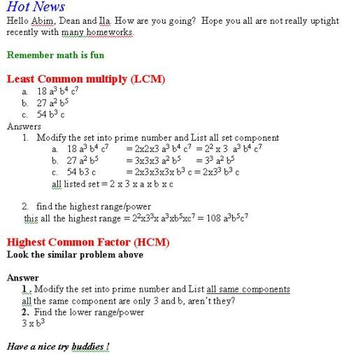 integer problems worksheet